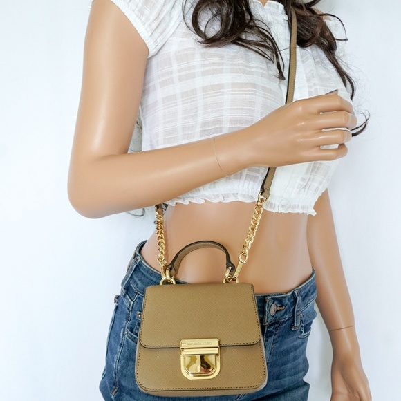 2dac12579d09 Michael Kors Bags | Bridgette Mini Crossbody Bag Khaki | Poshmark
